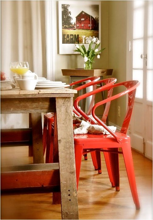 farmhouse-table-red-chairs-stephen-saint-onge