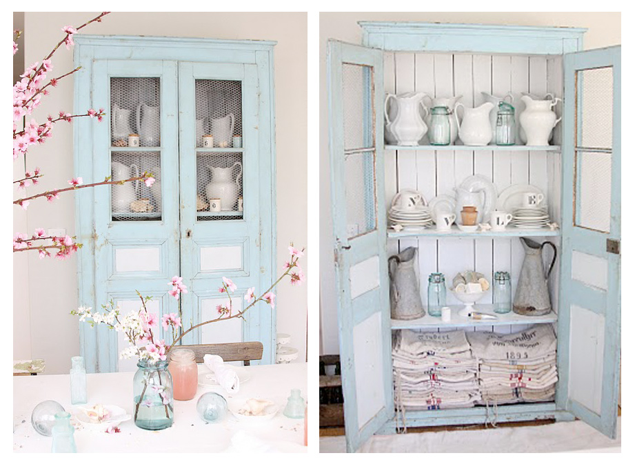 Rustic-Pale-Blue-Antique-Dresser-from-Dreamy-Whites